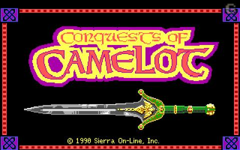 Conquests of Camelot - game cover