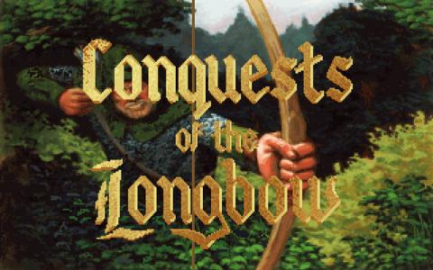 Conquests of the Longbow - The Legend of Robin Hood - title cover