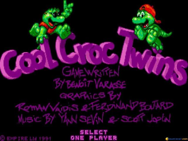 Cool Croc Twins - title cover