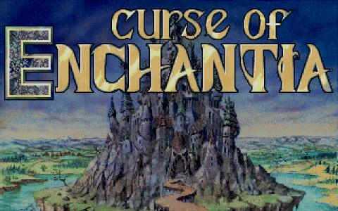 Curse of Enchantia - title cover