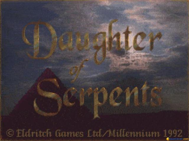 Daughter of Serpents - title cover