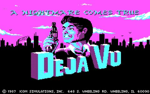 Deja Vu - game cover