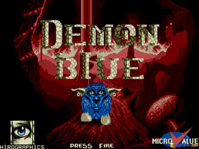 Demon Blue - title cover