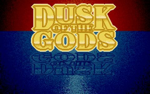 Dusk of the Gods - title cover