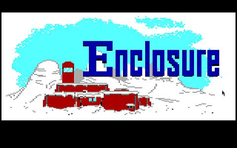 Enclosure - title cover