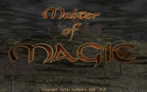 Master of Magic - title cover