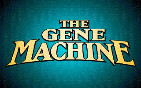 Gene Machine, The - title cover