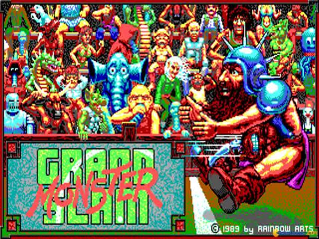 Grand Monster Slam - game cover