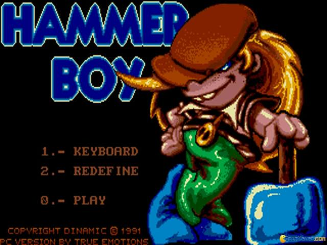 Hammer Boy - title cover