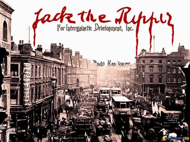 Jack The Ripper - game cover