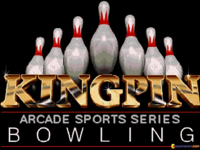 King Pin Arcade Sports Bowling - game cover
