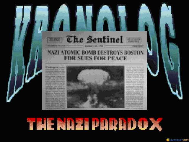 Kronolog - The Nazi Paradox - title cover