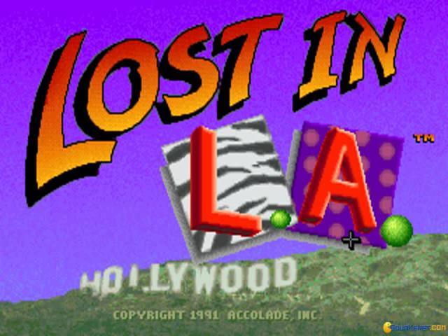 Les Manley 2 - Lost In LA - title cover