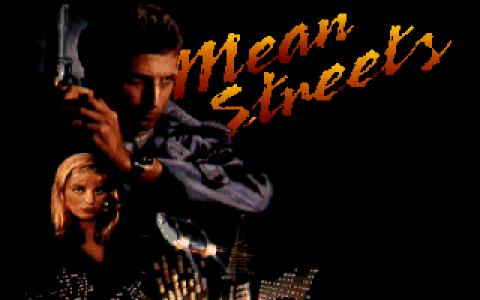 Mean Streets - game cover