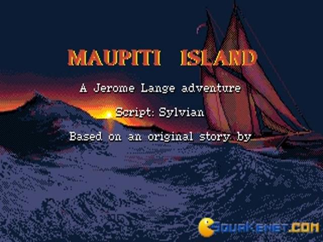 Maupiti Island - title cover