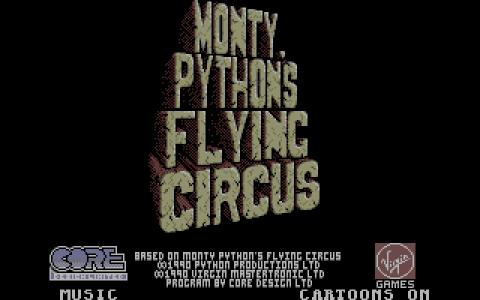 Monty Python's Flying Circus - title cover