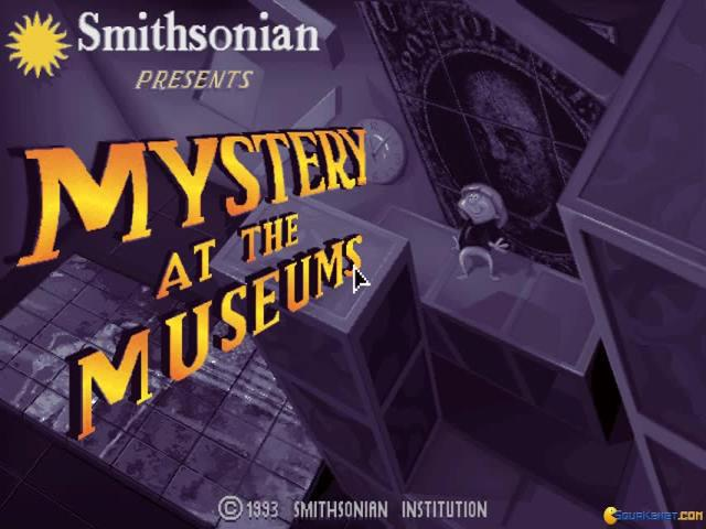 Mystery at the Museums - title cover