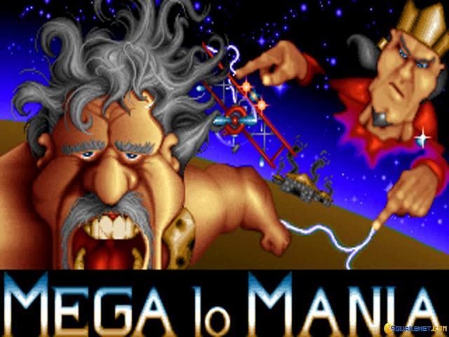 Mega Lo Mania - title cover
