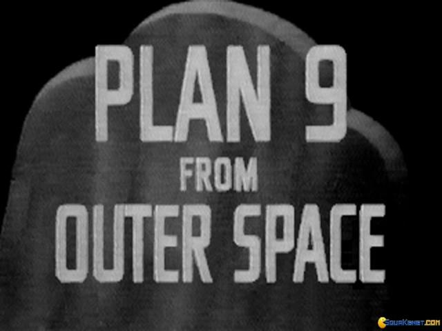 Plan 9 from Outer Space - title cover