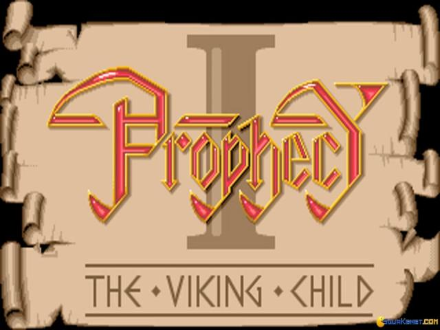 Prophecy 1 - The Viking Child - title cover