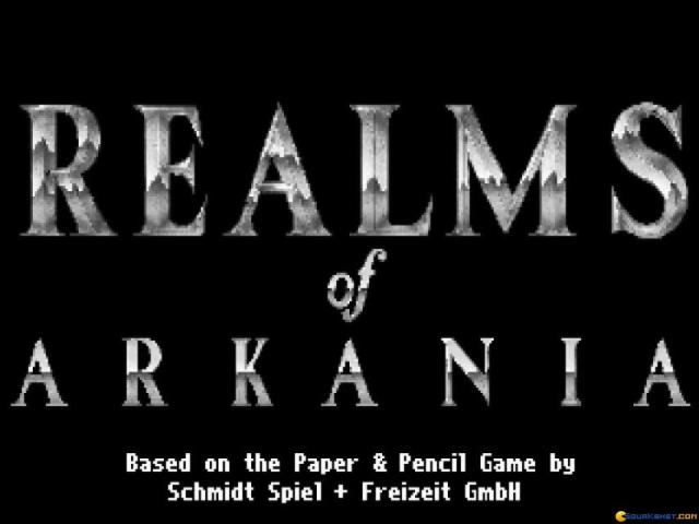 Realms of Arkania - Blade of Destiny - game cover