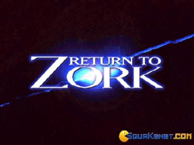 Return To Zork - game cover