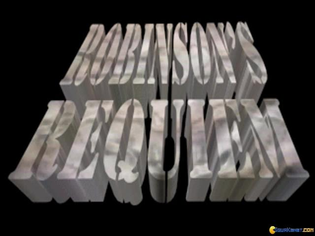 Robinson's Requiem - title cover