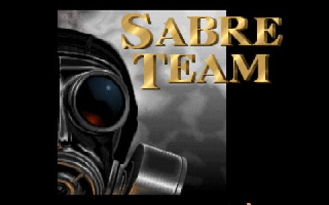 Sabre Team - title cover