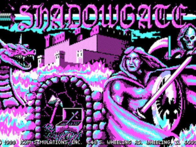 Shadowgate - title cover