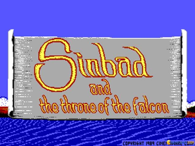 Sinbad and the Throne of the Falcon - game cover