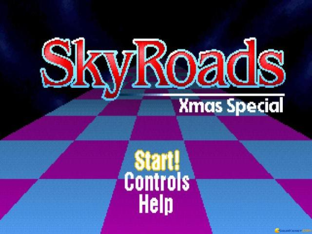 Skyroads X-mas Edition - game cover