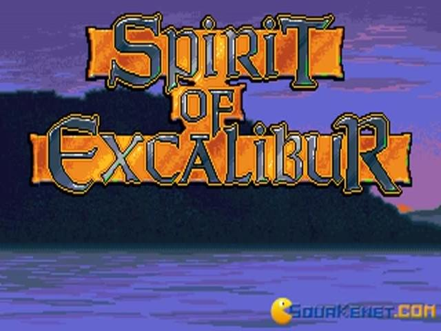 Spirit of Excalibur - title cover