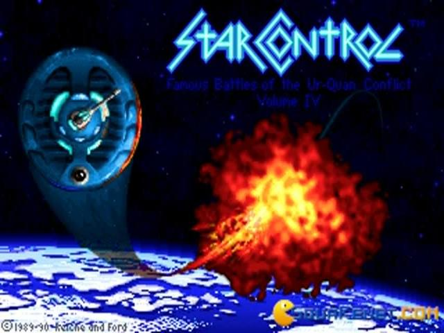 Star Control 1 - game cover