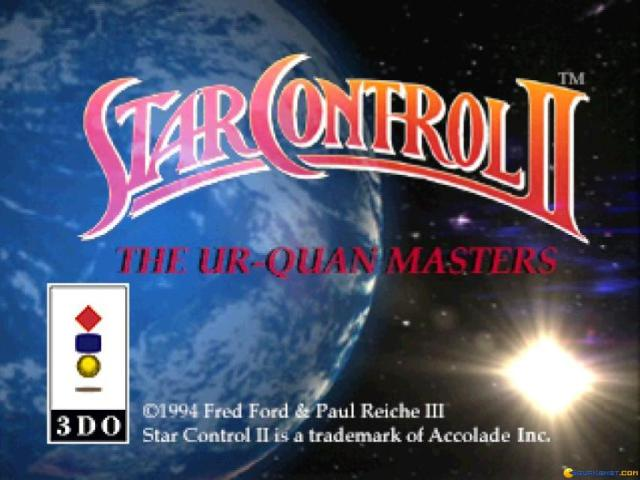 Star Control 2 - title cover