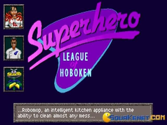 Superhero League of Hoboken - game cover