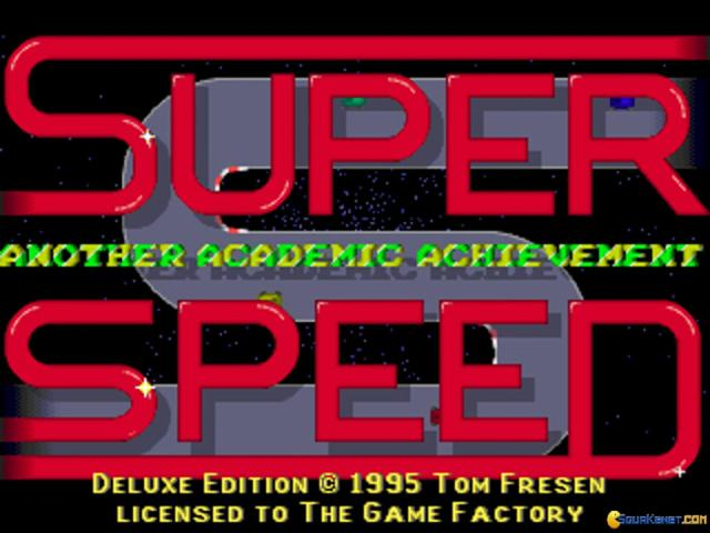 Superspeed Deluxe - game cover