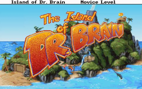 The Island of Dr. Brain - game cover