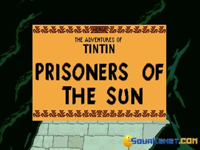 Tintin: Prisoners of the Sun - game cover