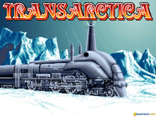 Transarctica - game cover