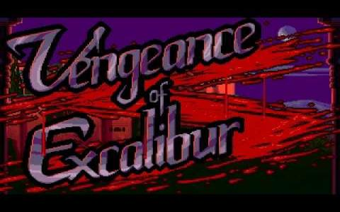 Vengeance of Excalibur - title cover