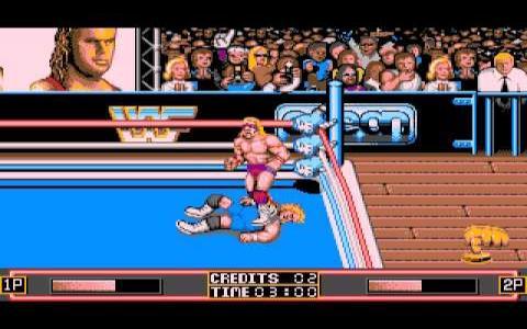 WWF Wrestlemania - title cover