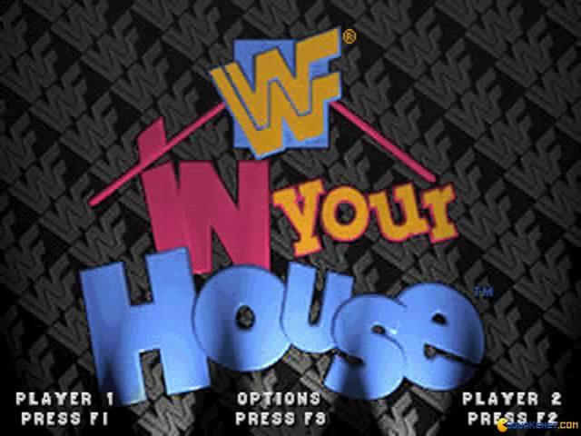 WWF In Your House - title cover