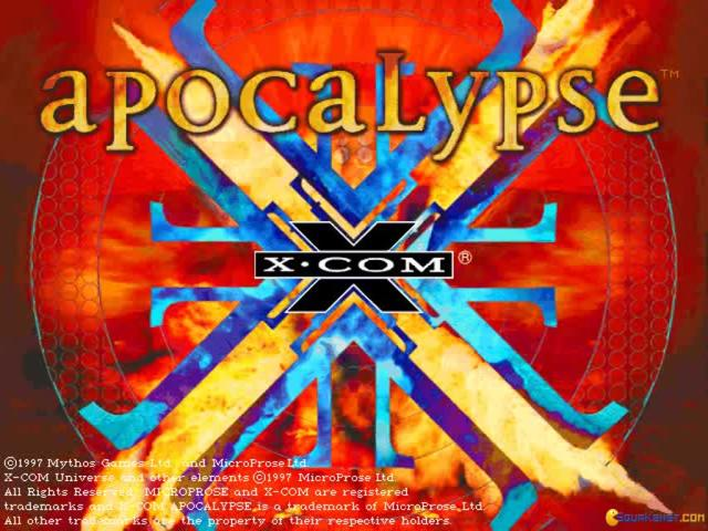 X-COM: Apocalypse - game cover