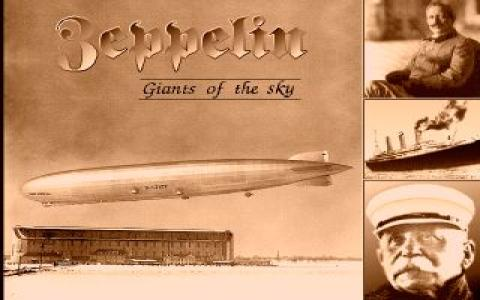 Zeppelin - Giants of the Sky - title cover