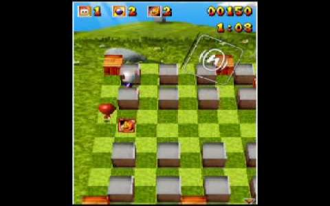 3d Bomberman - title cover