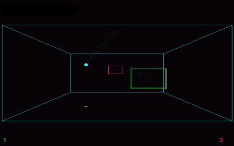 3d Pong - title cover