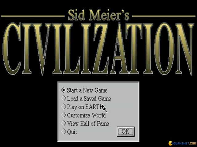 Civilization for Windows - title cover