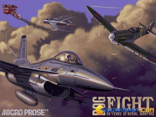 Dogfight - game cover