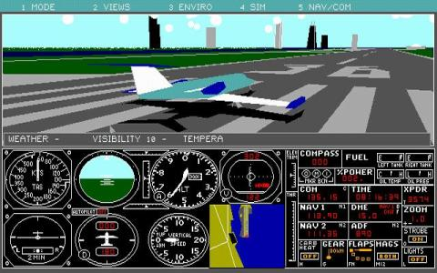 Microsoft Flight Simulator 3.0 - game cover