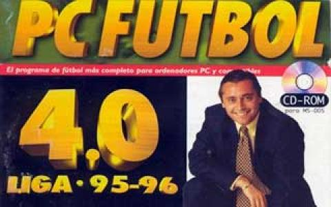 Pc Futbol 4 - title cover
